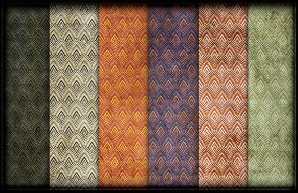 Vintage Retro Grunge Wallpaper Patterns