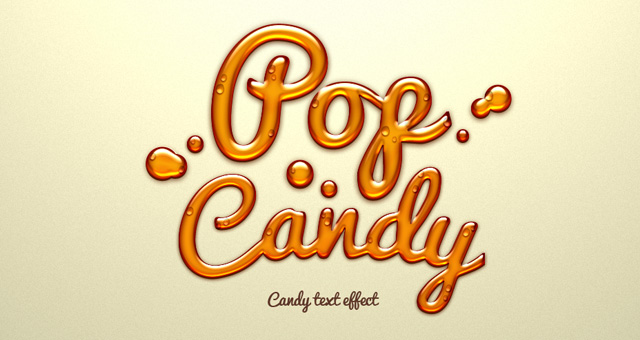 Pop Candy Typography