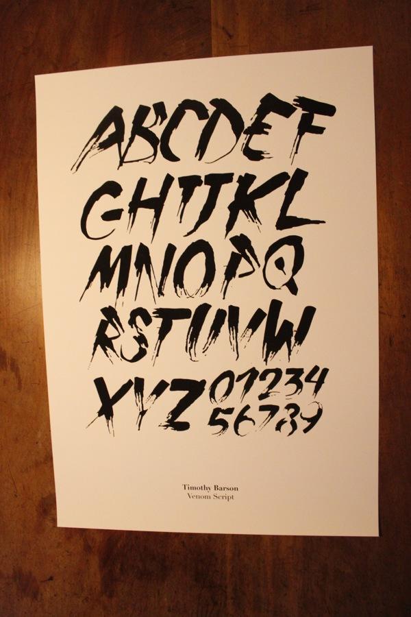 Venom Script Free Font