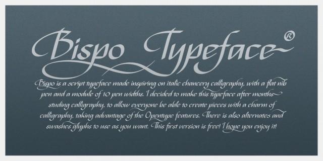 Bispo (free) Typeface
