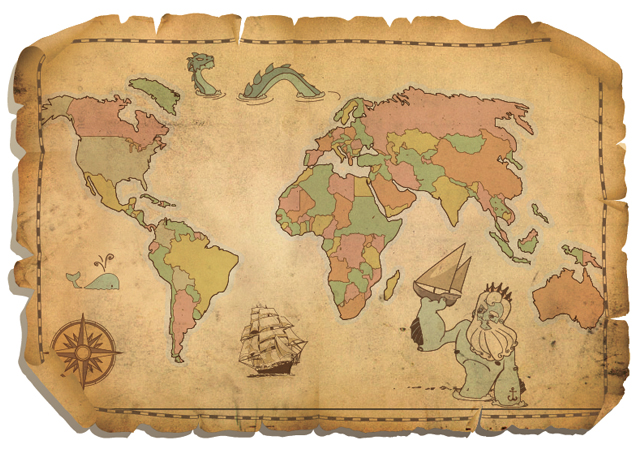 Pdf Magazine Download >> 25 Free Vector World Maps - Creatives Wall