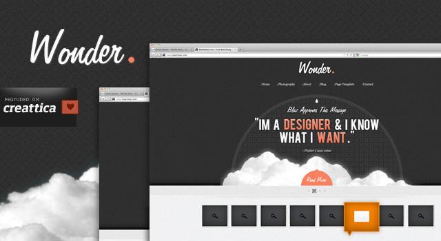 30 Free Psd Website Templates Creatives Wall