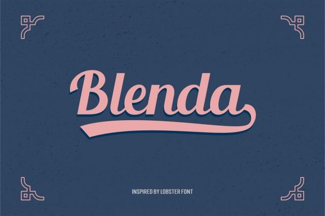 Blenda Script - Free Font