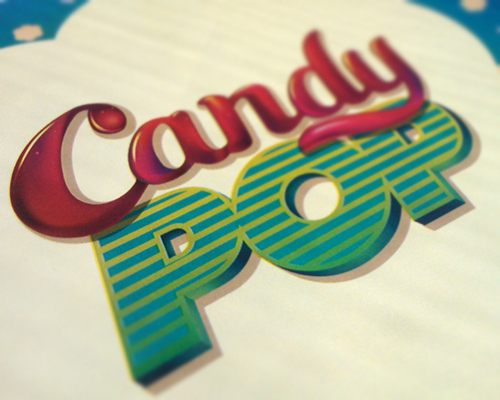 Candy Typography