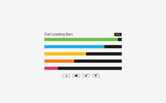 30 Free Amazing PSD Loading and Progress Bar Designs - Creatives Wall