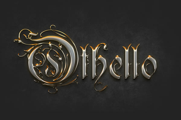 Create a Crisp Metallic Text Effect in Photoshop