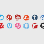 social_media_icons_spray_colour_icons_set