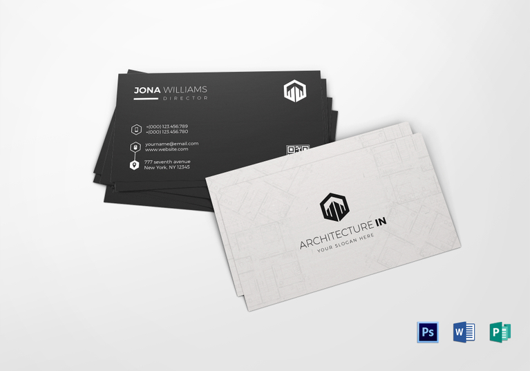 Architecture-Business-card-template